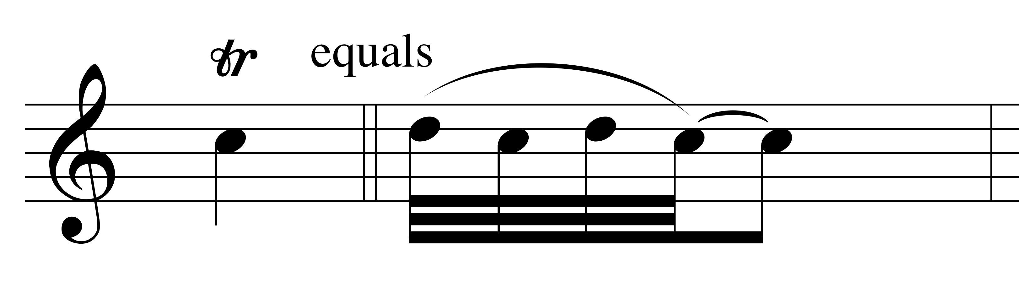 baroque trill