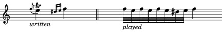 classical trill